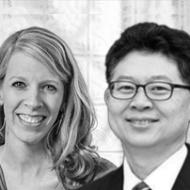 Steve Chang e Sarah Eekhoff Zylstra